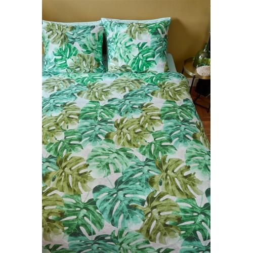 Beddinghouse dekbedovertrek Hawaii (jersey, green)