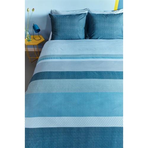 Beddinghouse dekbedovertrek Hidde (blue)