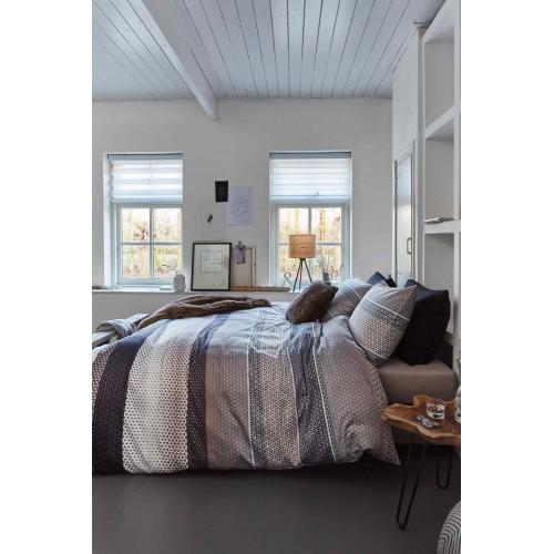Beddinghouse dekbedovertrek Princeport (satijn, grey)