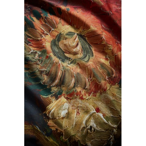 Beddinghouse x Van Gogh dekbedovertrek Gladioli (satijn, red)