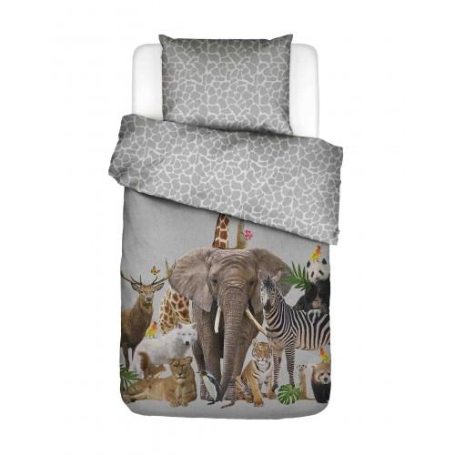 Covers & Co dekbedovertrek Noah (grijs)
