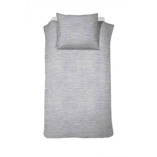 Damai bio-katoenen dekbedovertrek Fjall (grey)