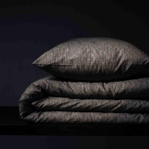 Damai bio-katoenen dekbedovertrek Hombre (stone grey)