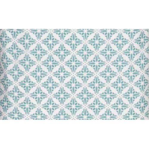 De Witte Lietaer dekbedovertrek Azulejos (satijn, bright white)