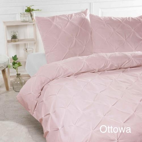 Papillon dekbedovertrek Ottowa (roze)