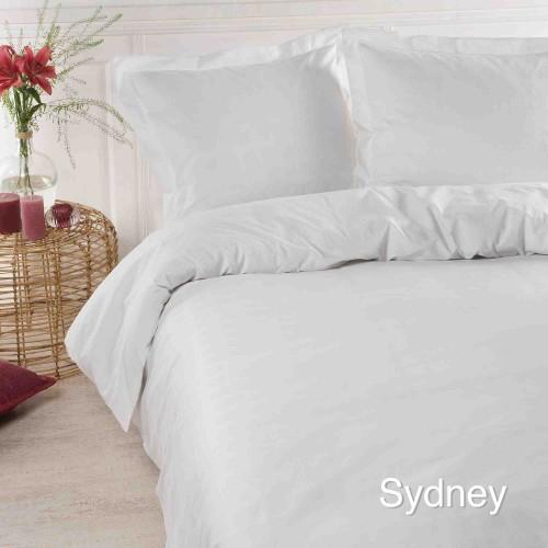 Papillon dekbedovertrek Sydney (wit)