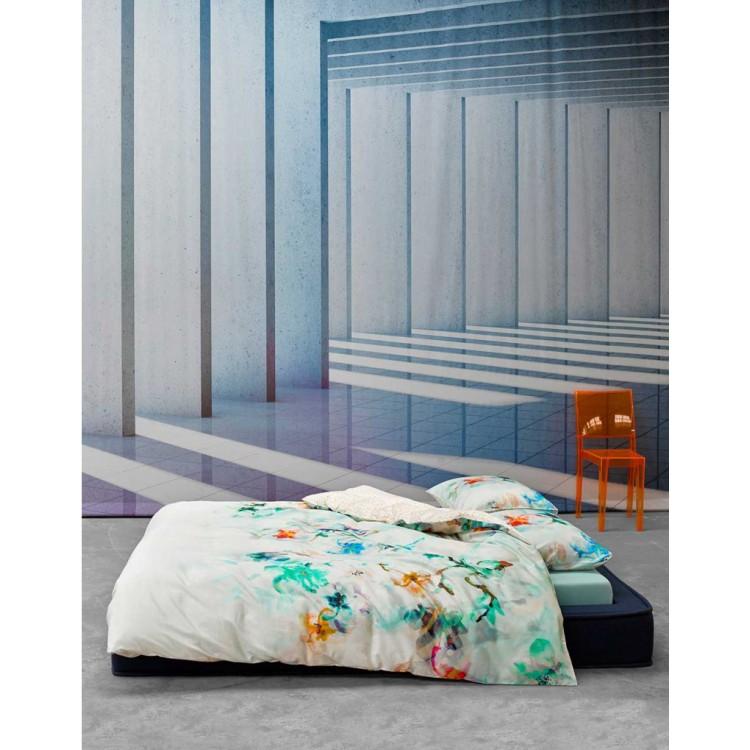 Essenza dekbedovertrek manta satijn multi - Geschilderd slaapkamer model ...