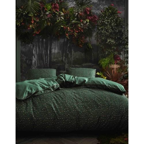 Essenza dekbedovertrek Bory (satijn, green)