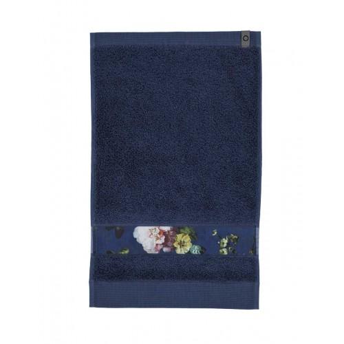 Essenza gastendoek Fleur 30x50cm (blauw)