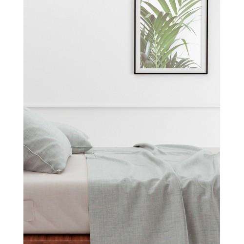 Zo! Home laken Lino 270x290cm (Mint Green)