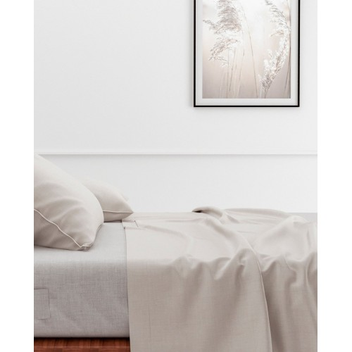 Zo! Home laken Lino 270x290cm (Off-white)
