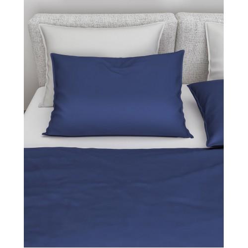 Zo! Home kussenslopen Satinado 2-pack (satijn, navy blue)