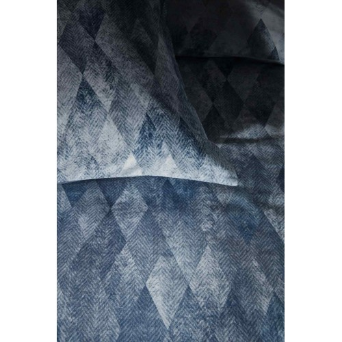 Kardol dekbedovertrek Harmonies (satijn, blauw)