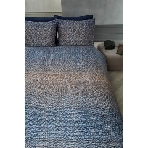 Kardol dekbedovertrek Sartorial (satijn, blauw)