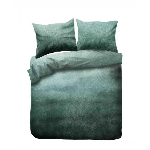 Kayori bio flanellen dekbedovertrek Gassho (groen)