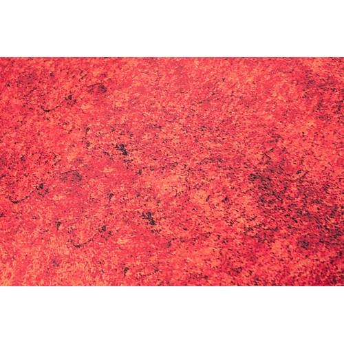 Kayori bio katoen-satijnen dekbedovertrek Chai (rood)