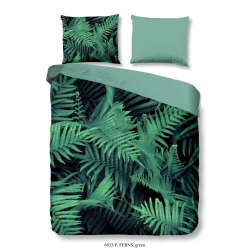 Goodmorning dekbedovertrek Ferns (6433, groen)