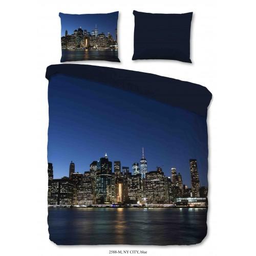 Pure dekbedovertrek NY City (2588, blauw)