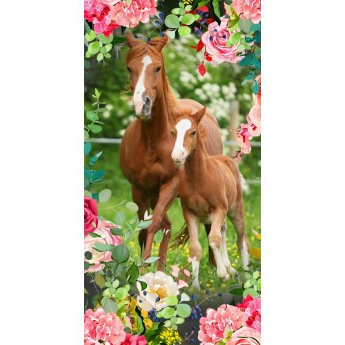 Goodmorning strandlaken Foal (6484, 75x150cm)