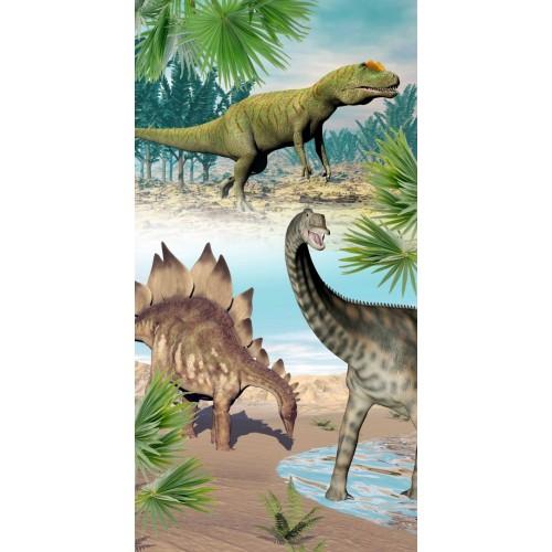 Goodmorning strandlaken Dino (6602, 75x150cm)