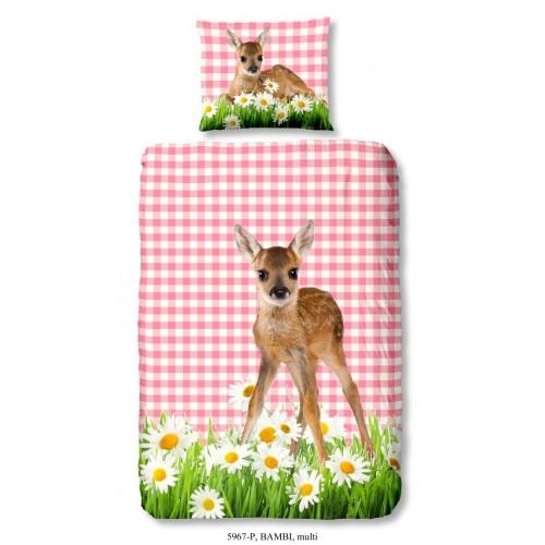 Bambi dekbedovertrek 140x200/220 (5967, multi)