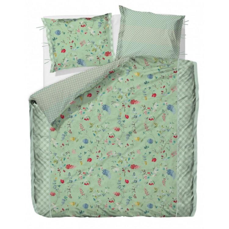 pip dekbedovertrek hummingbirds groen. Black Bedroom Furniture Sets. Home Design Ideas