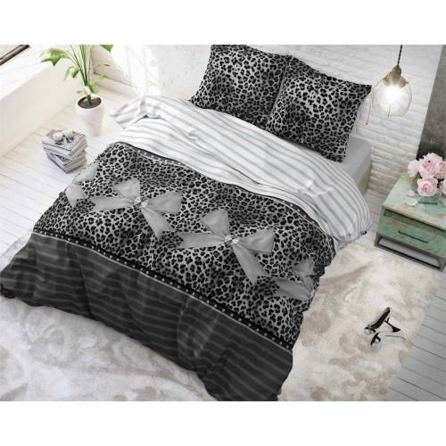 Sleeptime dekbedovertrek Panther Love (grijs)
