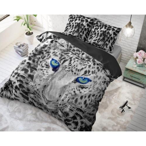 DreamHouse dekbedovertrek Cheetah (grijs)