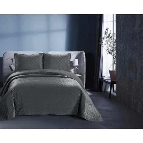 DreamHouse Velvet Classico bedsprei antraciet
