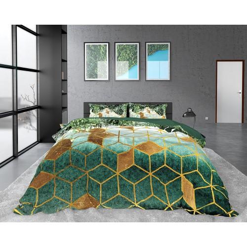DreamHouse dekbedovertrek Sceptic (satijn, green)