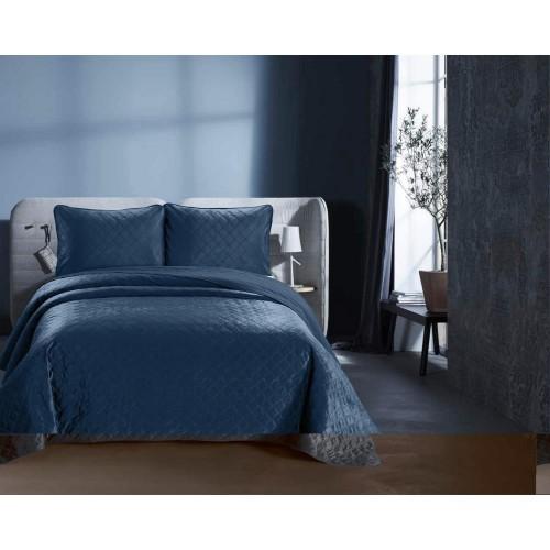 DreamHouse Velvet Classico bedsprei indigo