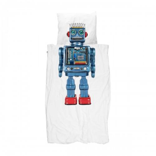 Snurk dekbedovertrek 140x200/220 Robot