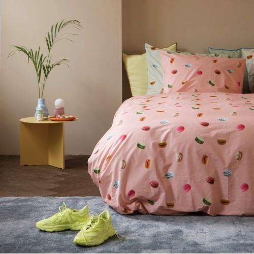 Snurk dekbedovertrek Macarons pink 140x200/220