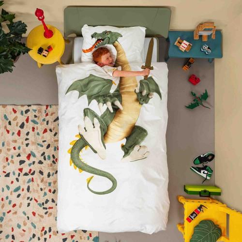 Snurk dekbedovertrek 140x200/220 Dragon