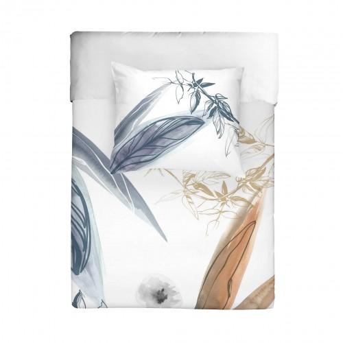 Walra dekbedovertrek Canvas of Nature (wit)