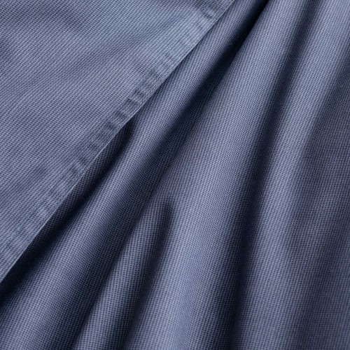 Walra dekbedovertrek Soft Structure (blauw)