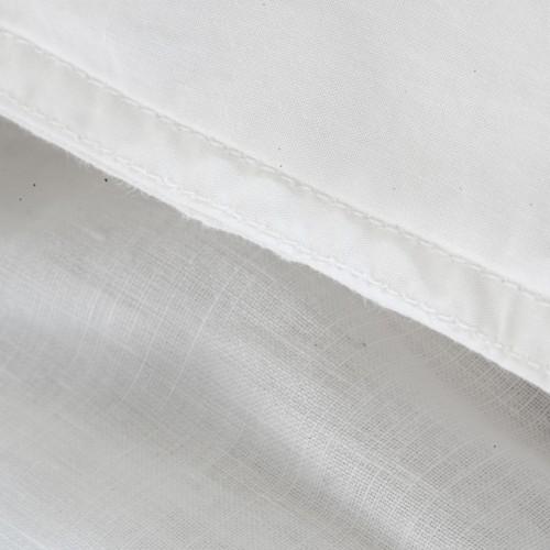 Walra dekbedovertrek Natural Linen (wit)