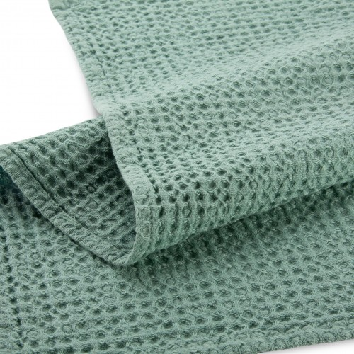 Walra keukendoek Blocks 50x70cm (groen)