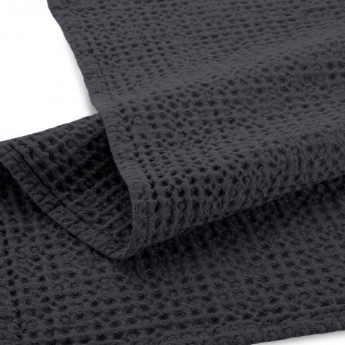 Walra keukendoek Blocks 50x70cm (off black)