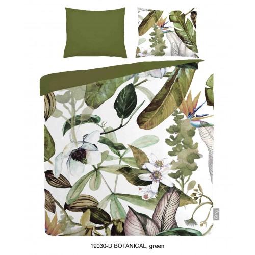 iSeng dekbedovertrek Botanical (19030, groen)