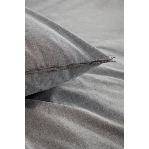 vtwonen dekbedovertrek Double Cord (grijs)