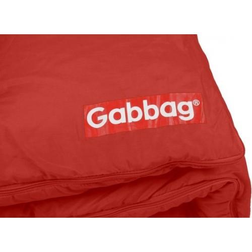 Gabbag Classic mummy slaapzak rood (80x230cm)