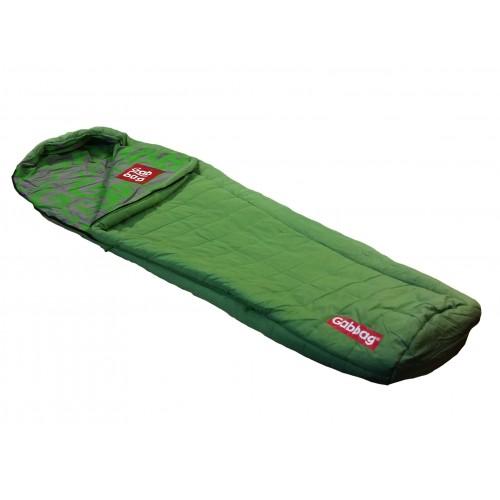 Gabbag Classic mummy slaapzak groen (80x230cm)