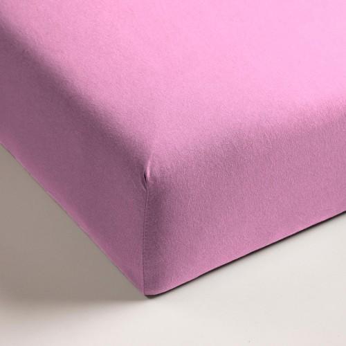 Cinderella jersey hoeslaken roze