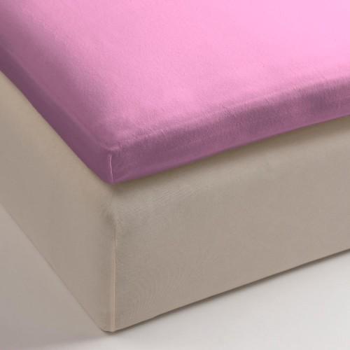 Cinderella jersey hoeslaken voor topper roze