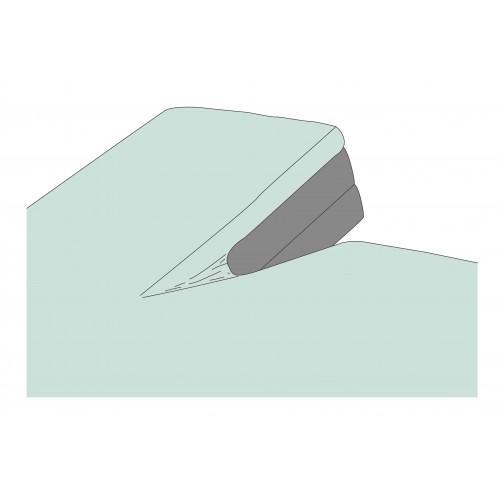 Kayori bio-jersey splitopper hoeslaken (tot 10cm, mintgroen)