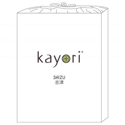 Kayori bio-jersey topper hoeslaken (tot 10cm, wit)