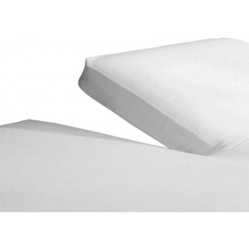 Molton hoeslaken met split (matrasbeschermer)