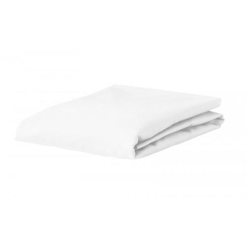 Katoenen hoeslaken 100x210 (wit)