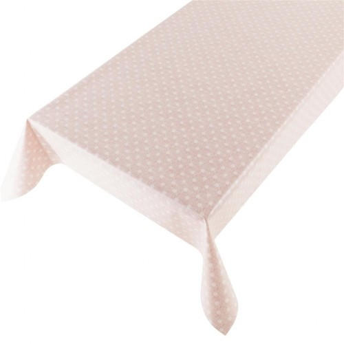 Tafelzeil New Dot pink